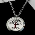 Original Frankincense necklace, silver or bathed