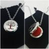 Necklace + Oil Set